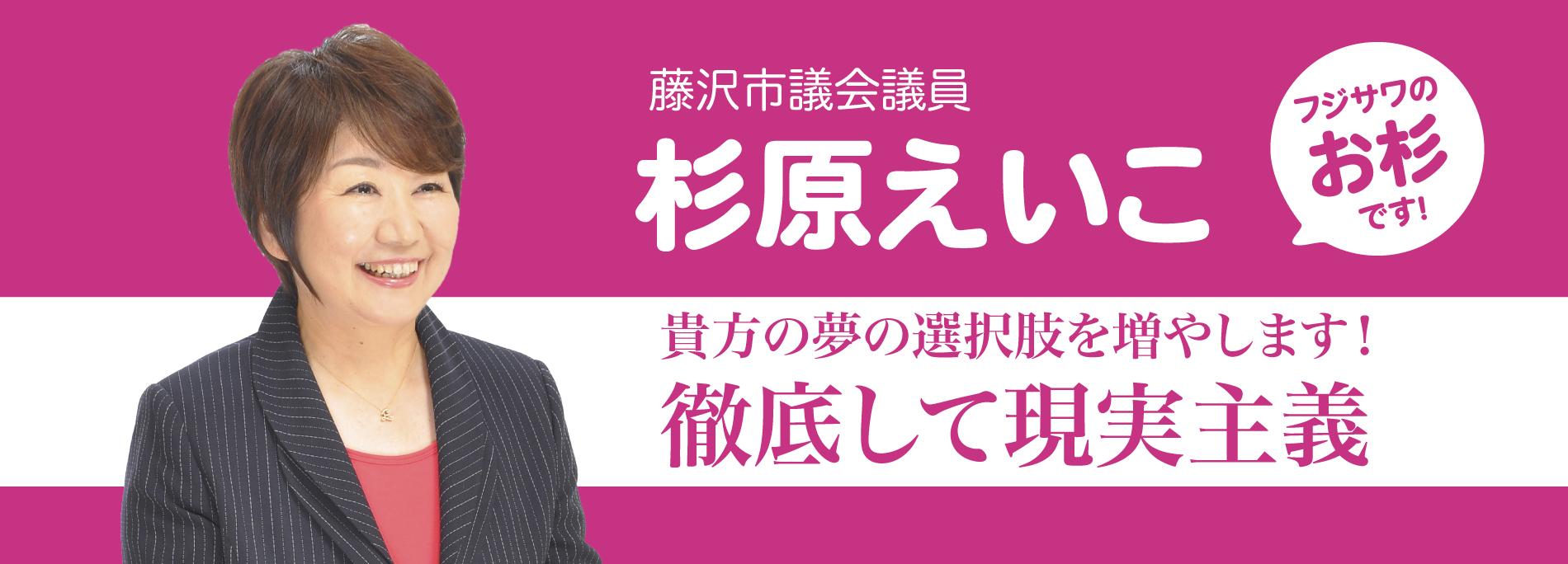 藤沢市議会議員 杉原えいこ